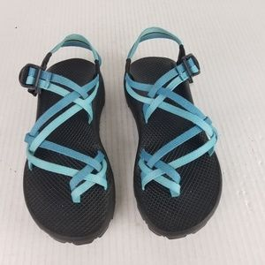 CHACO ZX2 Womens 10 Double Strap Toe Loop Sandals